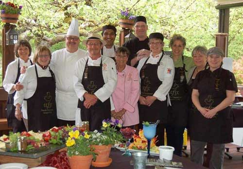 chef group photo